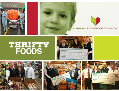 Courtenay Thrifty Foods supporting CVHF this May