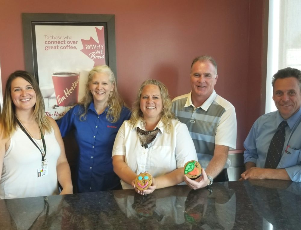 Tim Hortons' Smile Cookies support CVHF