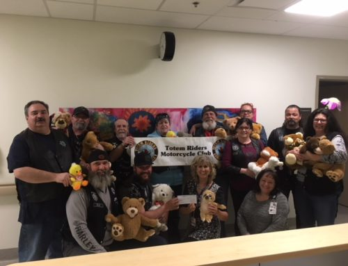Totem Riders Support  Maternity and Pediatric Patients