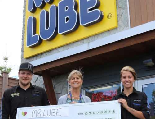 Mr. Lube's Supports our Foundation