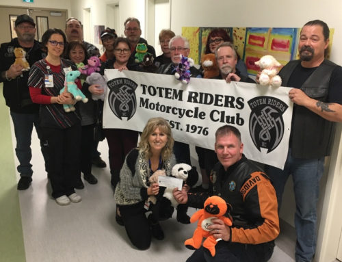 Totem Riders Motorcycle Club Delivers Stuffies