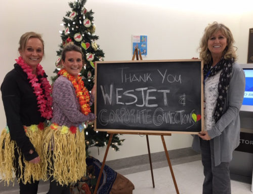 WestJet Ticket Winner Announced