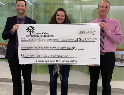 Thank you to the Comox Valley Community Foundation!
