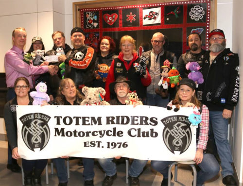 Totem Riders Motorcycle Club Donation