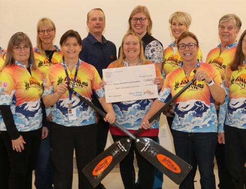 Hope Afloat Dragon Boat Society Supports Cancer Care