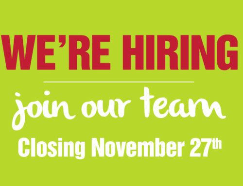 Closing November 27th: We Are Hiring!