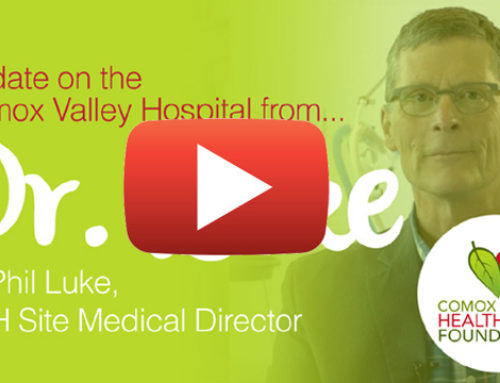 Update on the Comox Valley Hospital by Dr. Luke