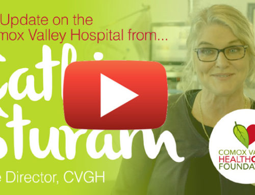 An Update on the Comox Valley Hospital from Cathie Sturam