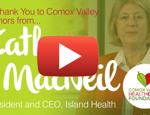 A Message from Kathy MacNeil, CEO of Island Health
