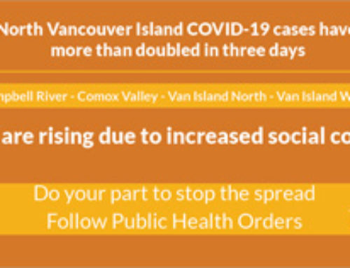COVID Numbers in the Comox Valley