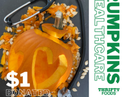 Pumpkins for Healthcare at Thrifty Foods